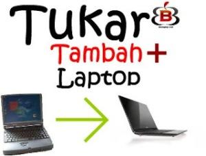 tukar tambah laptop bekas